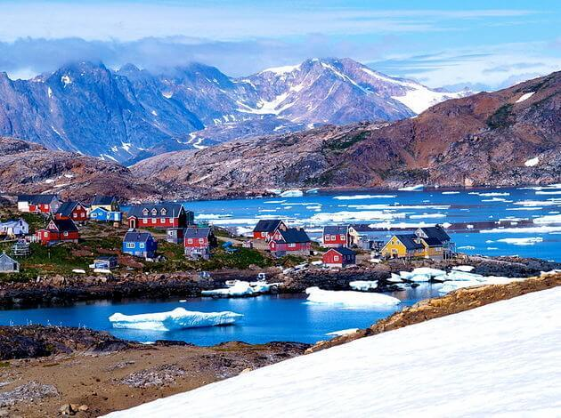 Greenland has the cleanest water in the world