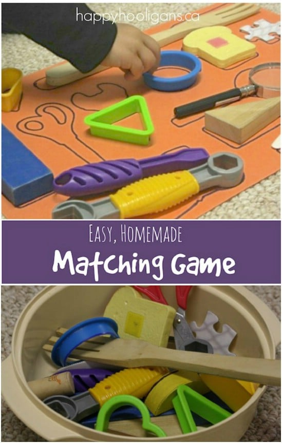Simple DIY Matching Game