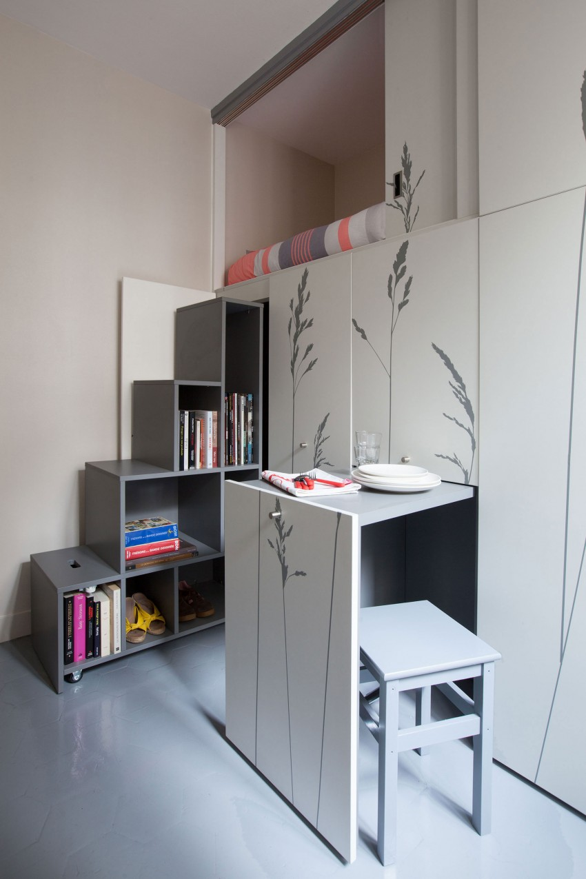 Tiny-Apartment-in-Paris-pull-out-table