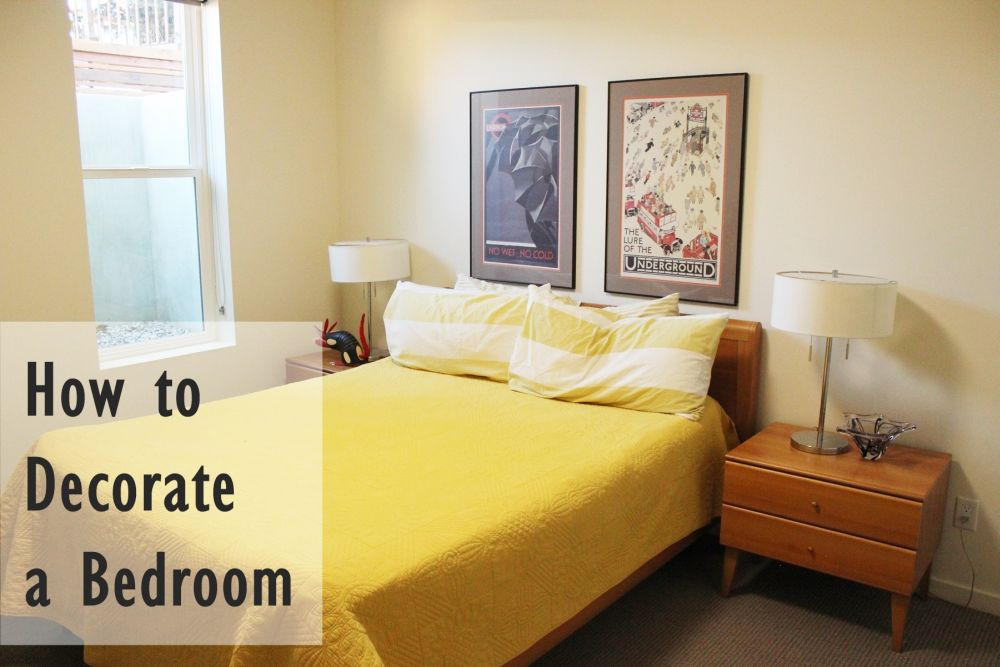 How To Decorate a Bedroom tips