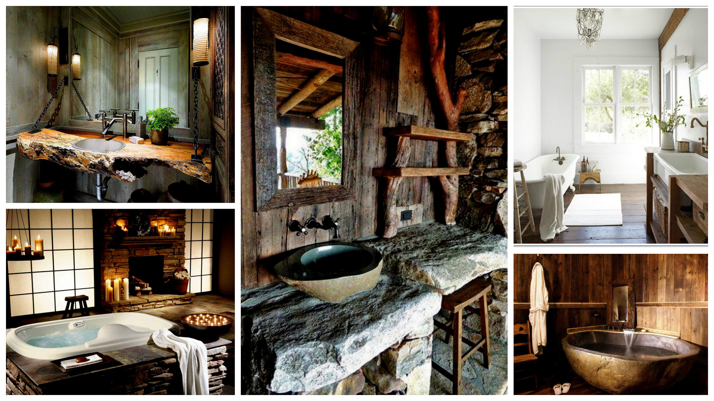 40 Exceptional Rustic Bathroom Designs Filled With Coziness and Warmth