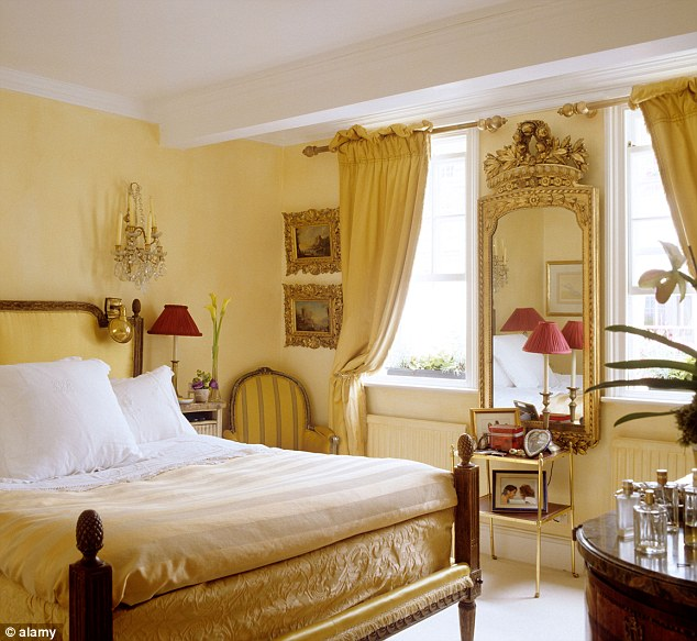 Gilded: People who have luxurious gold rooms do not get a proper full night of sleep, with only 6 hours 43 minutes