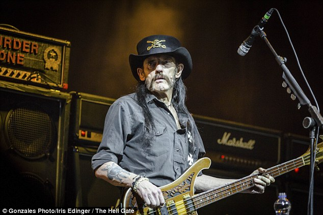 Gone but not forgotten: Fans around the world were devastated when Motörhead founder and frontman Ian