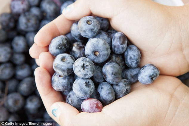 Delicious: Other research has shown that the colour blue can also be helpful in helping people eat less