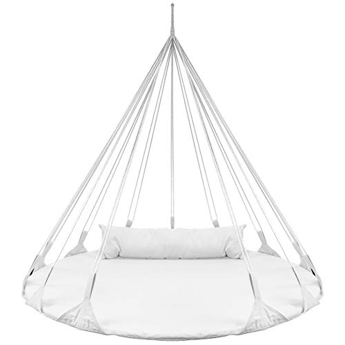 Sorbus Hanging Swing Nest with Pillow, Double Hammock Daybed...