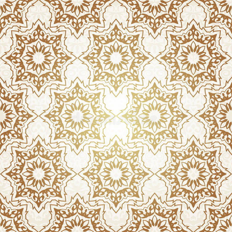 Decorative seamless pattern in ottoman motif. Vintage Background Traditional Ottoman motifs.Decorative colorful seamless pattern in mosaic ethnic style.Vector stock photos