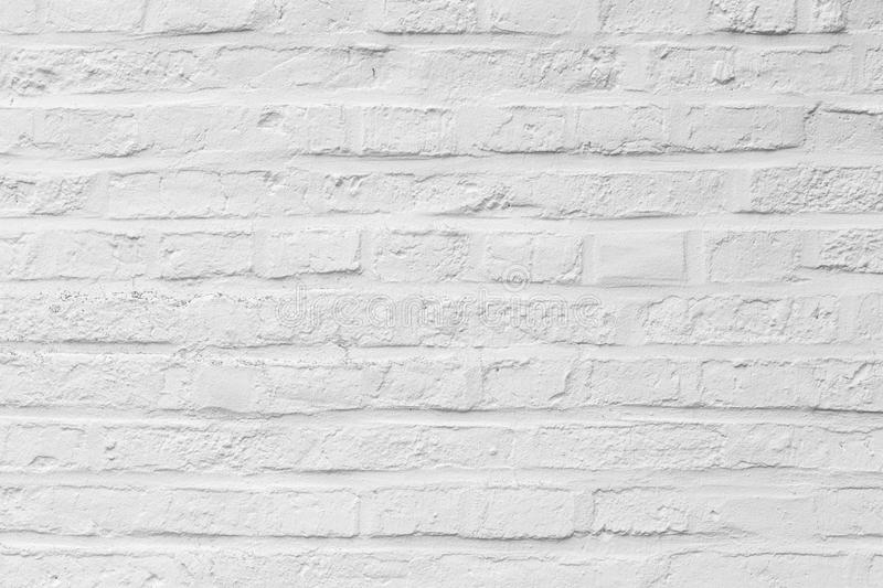 Harmonic white brick background stock images
