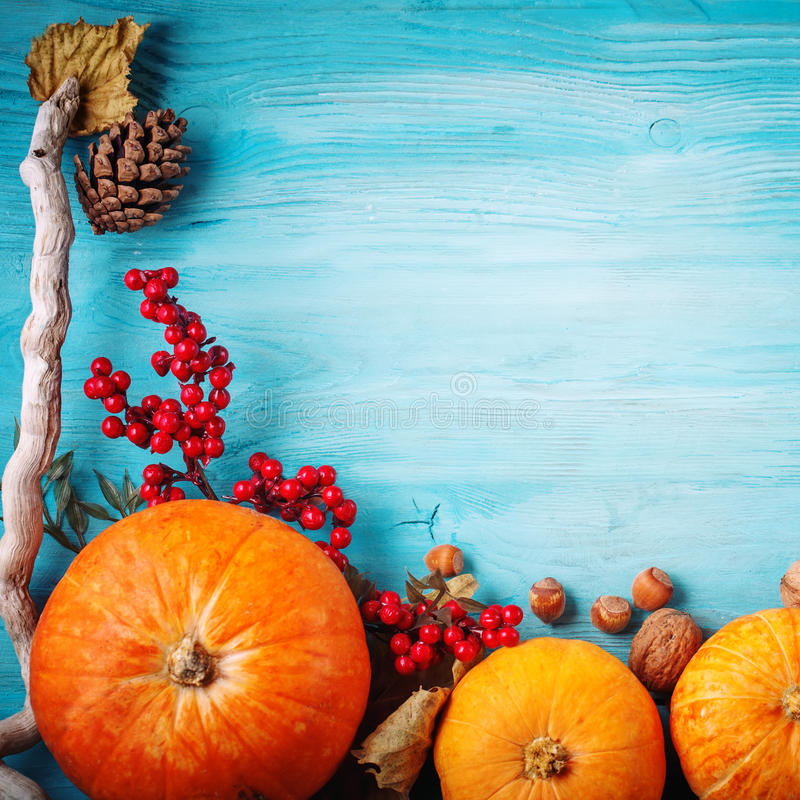 The table, decorated with vegetables and fruits. Harvest Festival,Happy Thanksgiving. royalty free stock photos