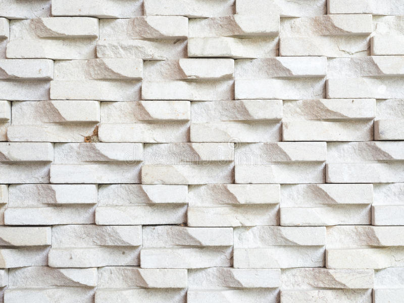 White stone brick wall background royalty free stock images
