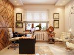 Дизайн кабинет директора: дизайн интерьера, кабинет руководителя мужчины в современном стиле