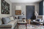Дизайн комнаты в серых тонах: 150+ (Фото) Сочетаний Штор/ Обоев/ Пола