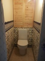 Ниша в туалете как оформить: Шкаф в туалете за унитазом (30 примеров с фото)