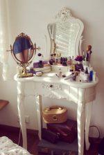 Оформление туалетного столика: 5 практичных советов и 25 красивых примеров — Roomble.com