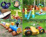 Украсить детскую площадку своими руками фото: Поделки для детской площадки: мастер-классы + фото подборка