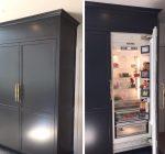 В комнате холодильник: Как спрятать холодильник: 8 гениальных идей