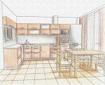 Как спроектировать кухню: Как спроектировать кухню самому на компьютере: инструкция, пример