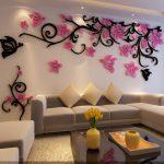 Как украсить красиво стену в комнате: Декор стен: чем украсить стены