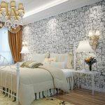 Обои для спальни стильные: Обои для спальни — 105 фото дизайна, какие обои выбрать в спальню