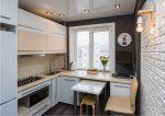 Идеи для очень маленькой кухни: 16 макси-идей и 100 фото [2020]
