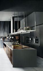 Кухня с островом минимализм: 30 примеров с отличным дизайном